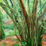 Forêts - Olivier Morel - Forêt 8, le 9 janvier 2015, acrylique/toile, 97 x 130 cm, 2015