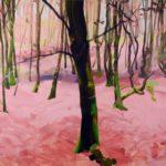 Forêts - Olivier Morel - Forêt 29, acrylique/toile, 130 x 162 cm, 2017