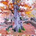 Forêts - Olivier Morel - Forêt 40, acrylique/toile, 150 x 150 cm, 2018