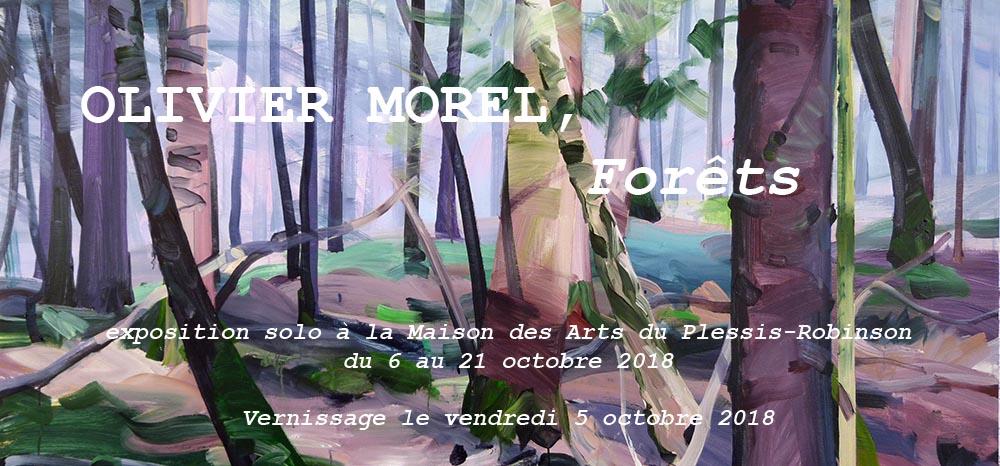 Olivier Morel, artiste plasticien, exposition solo 2018