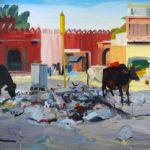 1001 nuits, Olivier Morel - Jpr 1, acrylique/toile, 130 x 162 cm, 2011