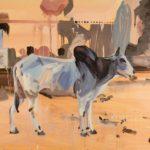 1001 nuits, Olivier Morel - Jpr 2, acrylique/toile, 89 x 116 cm, 2011