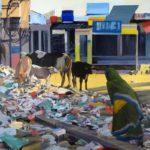 1001 nuits, Olivier Morel - Transformateur, acrylique/toile, 130 x 162 cm, 2011