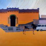 1001 nuits, Olivier Morel - Nwlgrth 1, acrylique/toile, 130 x 162 cm, 2011