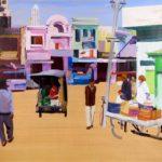 1001 nuits, Olivier Morel - Nwlgrth 2, acrylique/toile, 130 x 162 cm, 2011