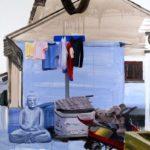 1001 nuits, Olivier Morel - Shngh 1, acrylique/toile, 130 x 162 cm, 2011
