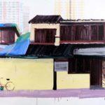 1001 nuits, Olivier Morel - Shngh 5, acrylique/toile, 89 x 116 cm, 2011