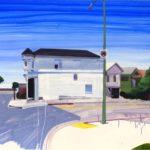 Nouveau monde, Olivier Morel - Klnd1, acrylique/toile, 97 x 130 cm, 2011