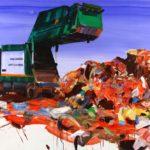 1001 nuits, Olivier Morel - Crabes b, acrylique/toile, 130 x 195 cm, 2012