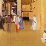 1001 nuits, Olivier Morel - Srrngm 1, acrylique/toile, 130 x 195 cm, 2012