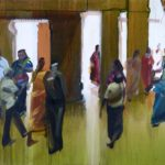 1001 nuits, Olivier Morel - Srrngm 2, acrylique/toile, 130 x 195 cm, 2012