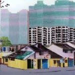 1001 nuits, Olivier Morel - Shngh 7 2e, acrylique/toile, 130 x 162 cm, 2013