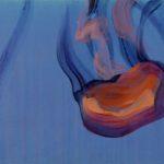 Nouveau monde, Olivier Morel - Méduses 5, acrylique/toile, 33 x 41 cm, 2013