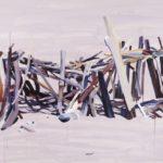 Nouveau monde, Olivier Morel - Maison 2, acrylique/toile, 130 x 195 cm, 2015