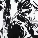 Nouveau monde, Olivier Morel - Market Street, encre de Chine/papier, 200 x 1000 cm, 2015 (détail)