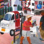 Olivier Morel, Japon, peinture, 414