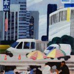 Olivier Morel, Japon, peinture, Cireurs