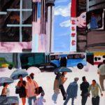 Olivier Morel, Japon, peinture, Ginza