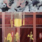 Olivier Morel, Japon, peinture, Kenninji, dragons