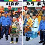 Olivier Morel, Japon, peinture, Asakusa,, défilé