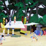Olivier Morel, Japon, peinture, Hagi, bouées