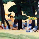 Olivier Morel, Japon, peinture, Hagi, pins