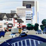 Olivier Morel, Japon, peinture, Kabuki-za