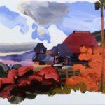 Olivier Morel, Japon, peinture, Kiomizu-dera