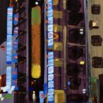 Nocturnes, Olivier Morel, Japon, peinture, Nuit, Akihabara2
