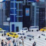 Olivier Morel, Japon, peinture, Reflet