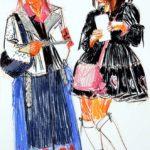 Uniformes, Olivier Morel - Uniforme 9, craies Conté / papier, 120 x 80 cm, 2008