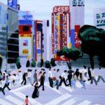 Olivier Morel, Japon, peinture, Visa