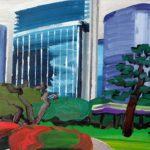 Olivier Morel, Japon, peinture, Hama rikyu 2