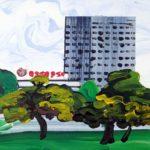 Olivier Morel, Japon, peinture, Hama rikyu 3