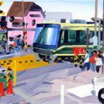 Olivier Morel, Japon, peinture, Kamakura 2