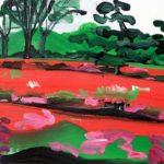 Olivier Morel, Japon, peinture, Parc impérial 1