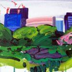 Olivier Morel, Japon, peinture, Parc impérial 2