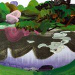 Olivier Morel, Japon, peinture, Parc impérial 4