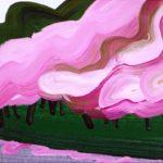Olivier Morel, Japon, peinture, Parc impérial 6
