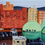 Olivier Morel, Japon, peinture, Shin 2