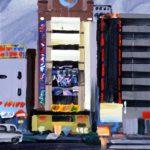 Olivier Morel, Japon, peinture, Ueno gare