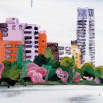 Olivier Morel, Japon, peinture, Ueno, Shinobazu 2