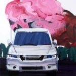 Olivier Morel, Japon, peinture, Voiture-fleur