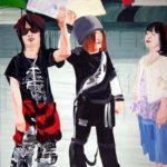 Olivier Morel, Japon, peinture, Free hugs
