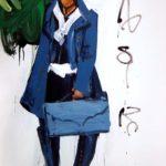 Olivier Morel, Japon, peinture, Idéogrammes