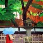 Olivier Morel, Japon, peinture, Kami ame