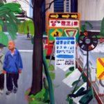Olivier Morel, Japon, peinture, Le cercle