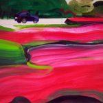 Olivier Morel, Japon, peinture, Parc impérial 3