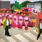 Olivier Morel, Japon, peinture, Passage protégé