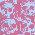 Olivier Morel, Bouddhas, linogravure, 1001 nuits